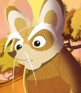 Shifu in Kung Fu Panda- Secrets of the Scroll