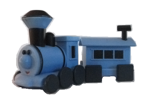 Train With Square Wheels On His Caboose