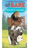 We Bare Serengeti Animals Poster