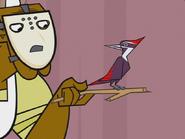 Woodpecker, Pileated (Total Drama Island)