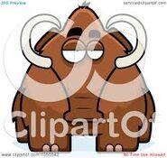 Woolly Mammoth Art