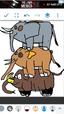 Grizz, Panda, and Ice Bear as Elephants