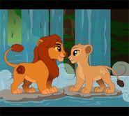 Simba and Nala MLP
