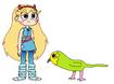 Star meets Kakapo