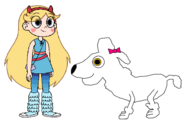 Star meets Poodle