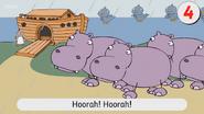 The Great Hippopotamus Got Stuck through the Door