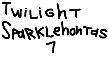 Twilight Sparklehontas