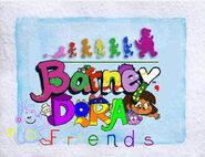 Barney, Dora Friends Season 7-13 title card