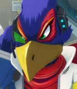 Falco in Star Fox Zero - The Battle Begins