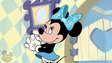 Mickey's Mistake - Minnie with the new bow
