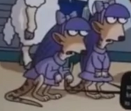Simpsons Meerkats