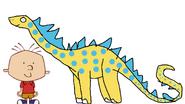 Stanley Griff Meets Diplodocus