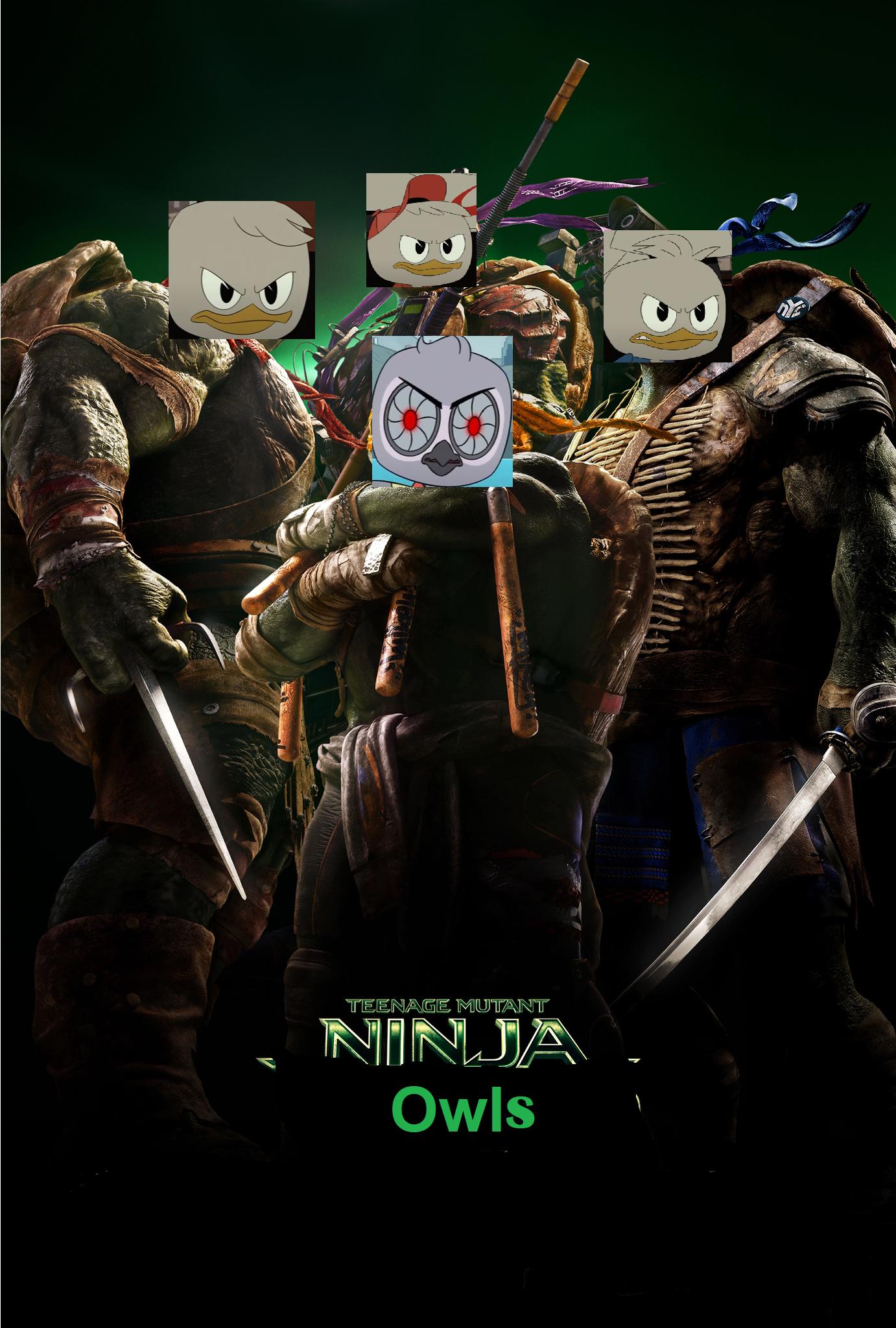 Teenage Mutant Ninja Owls (2014)