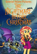 The Nightmare Before Christmas (Gabriel Adam Pictures Style) Poster