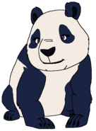 Amelia as a Giant Panda