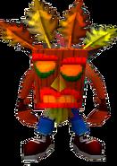 Crash Bandicoot Aku Aku Invincibility