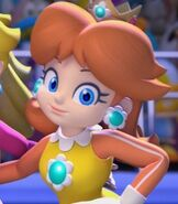 Princess Daisy in Mario and Sonic at the Winter Games