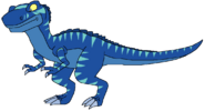 Sam Spacebot tyrannosaurus form thelandbeforetime in thespacebotsadventuresseries