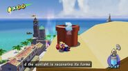 Super, Mario Sunshine Mario Sleeping