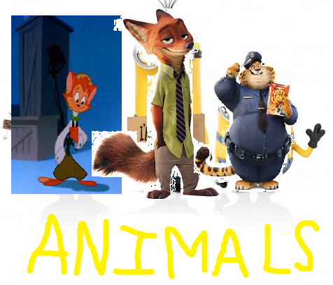 Animals (Minions) (TheLastDisneyToon and Toonmbia Style)