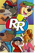 Baloo and yogi rescue rangers poster 2