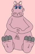 Hippo Miss Piggy's Feet Tease
