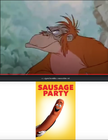 King Louie (1967) Hates Sausage Party (2016)