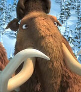 Manny in Ice Age Dawn of the Dinosaurs