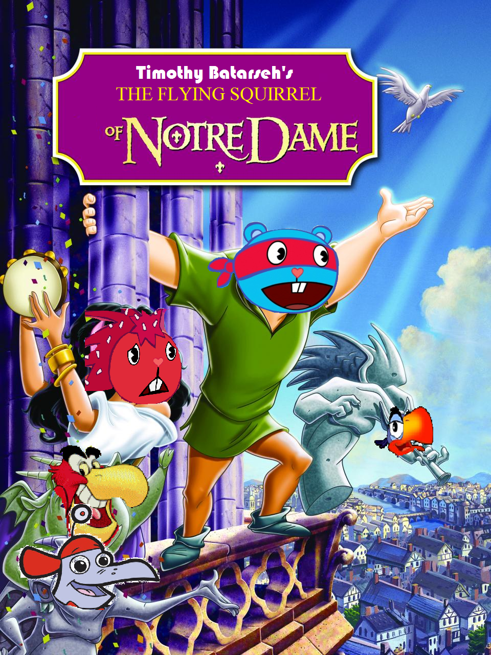 The Flying Squirrel of Notre Dame