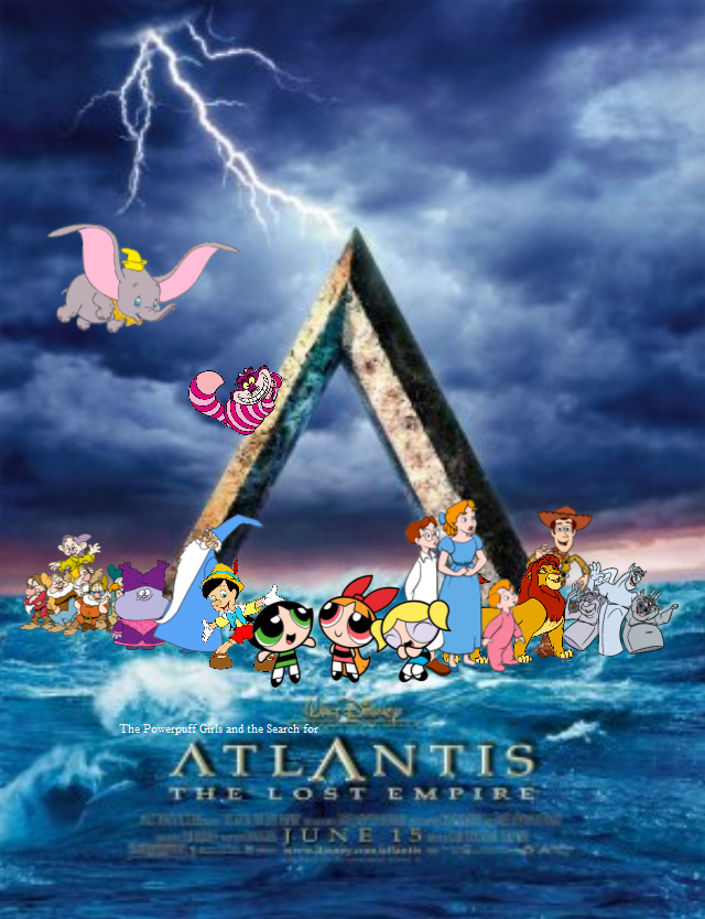 The Powerpuff Girls and the Search for Atlantis: The Lost Empire
