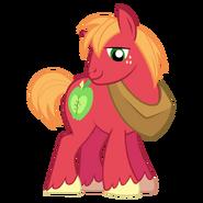Big macintosh 2nd best pony by redink853-d5w47ka