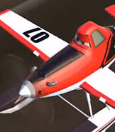 Dusty Crophopper in Planes - Fire and Rescue (Video Game)