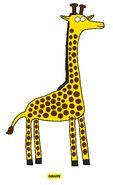 Emmett's ABC Book Giraffe