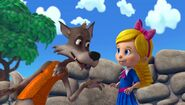 Goldie and Big Bad Wolf