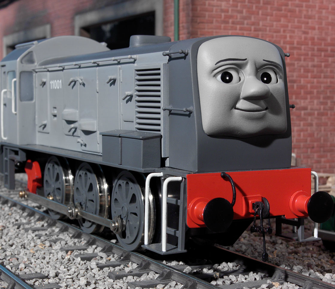 Dennis the Lazy Diesel