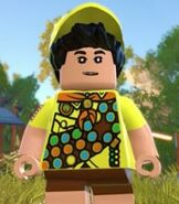Russell in Lego The Incredibles