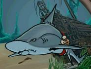 Shark in hugo lek och lar 7 hugo och djuren i havet