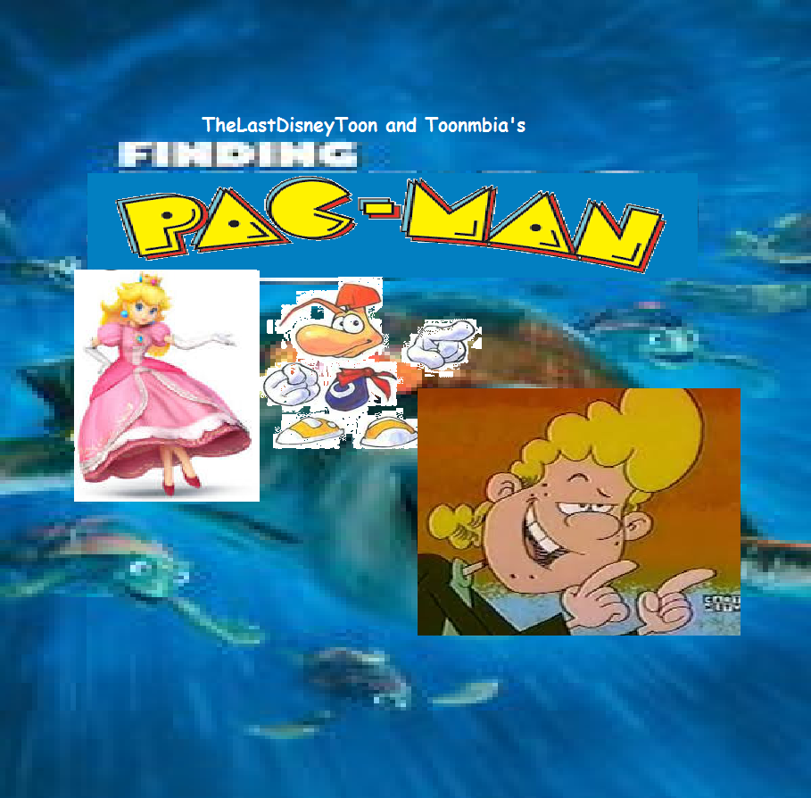 Finding Pac-Man (TheLastDisneyToon and Toonmbia Style) (Version 4)