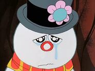 Frosty cries when the kids have to leave