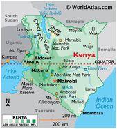 Kenya Map