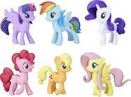 Mane 6 toy figurines