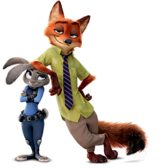 Nick Wilde and Judy Hopps (Disney)