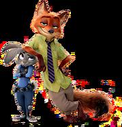Nick Wilde and Judy Hopps (Disney)