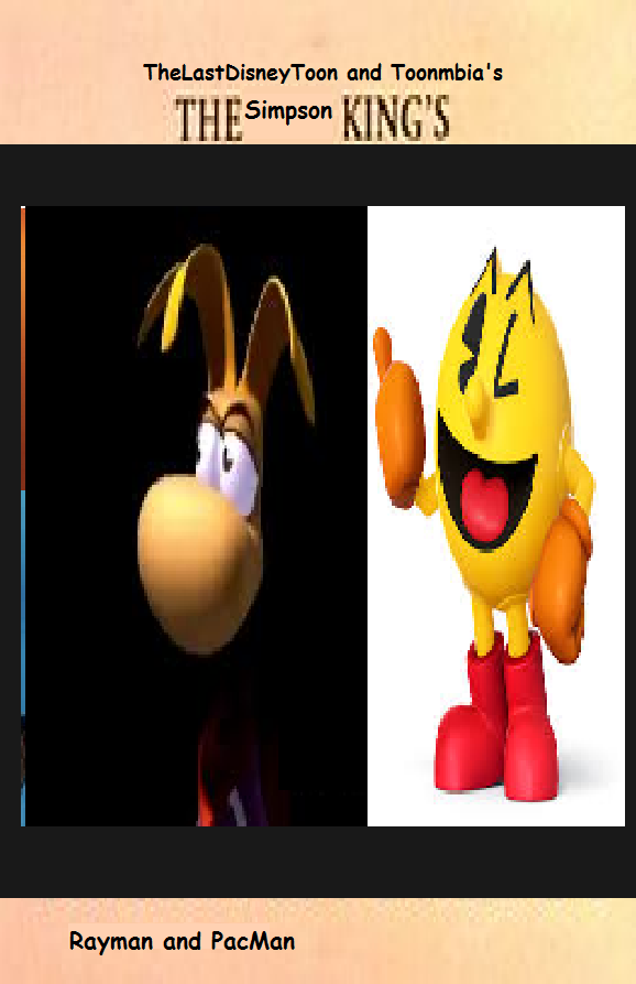 Rayman and Pac-Man