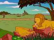 Simpsons Lion