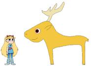 Star meets Key Deer
