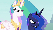 The royal sisters are no amused