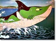 Donald vs sharks