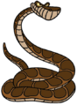 Kaa the Indian Python