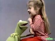 Kermit tickles Joey